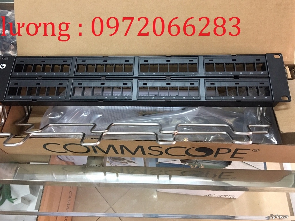Thanh đấu nối Patch panel 48 port CAT6 COMMSCOPE P/N: 1375015-2