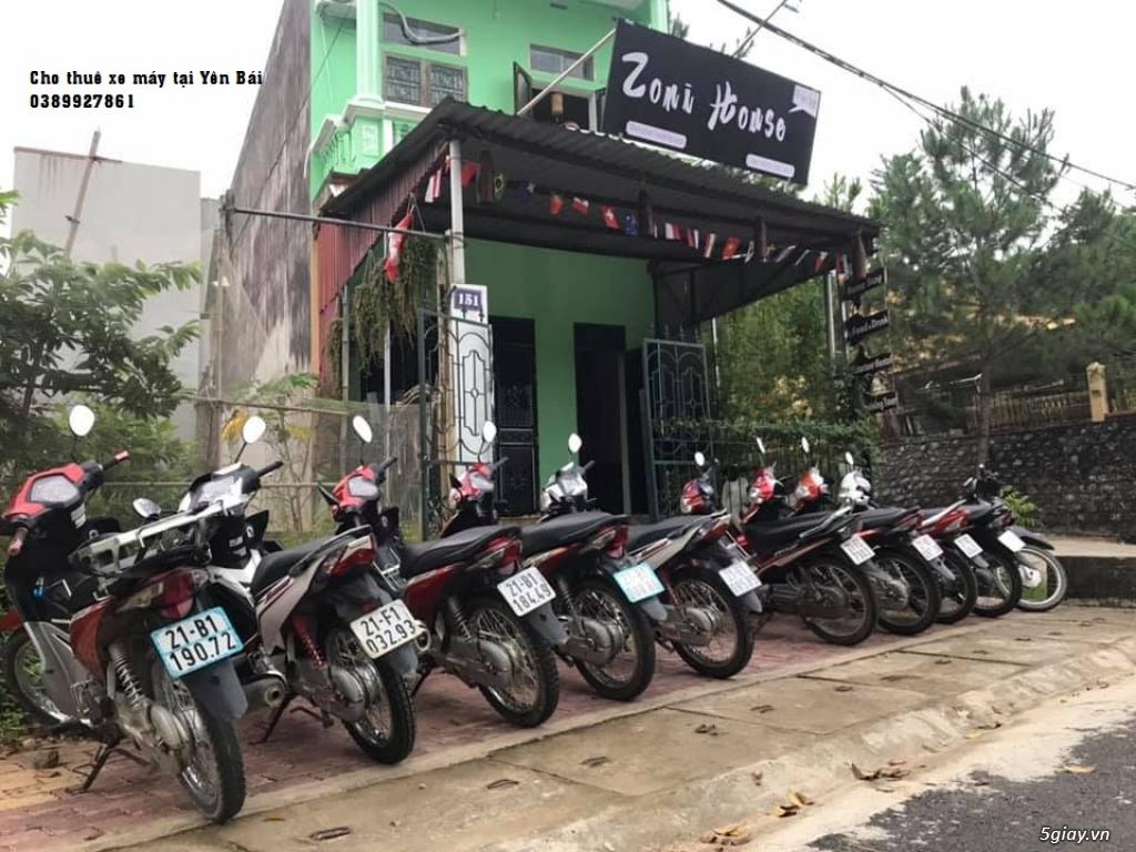 Cho thuê xe máy, thuê xe ô tô chất lượng tại Yên Bái - 1