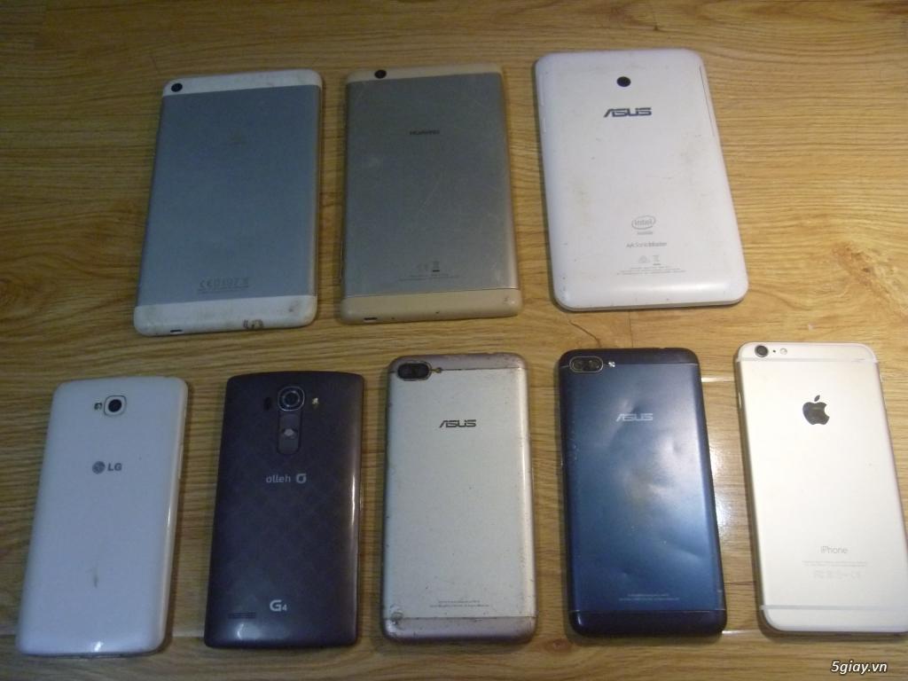 Lô xác điện thoại, máy tính bảng Huawei, Asus, LG G4, Ip6 plus.....