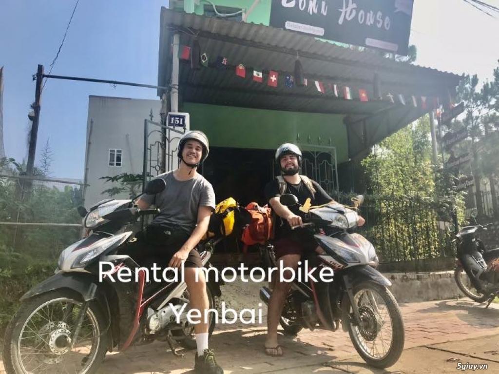 Cho thuê xe máy, thuê xe ô tô chất lượng tại Yên Bái