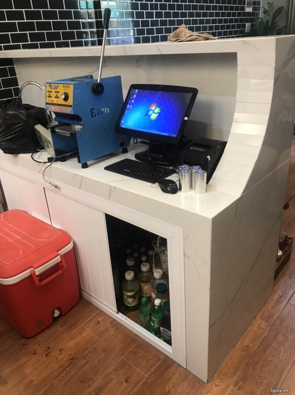Lắp đặt máy tính tiền cảm ứng cho Quán Nước ép - 3
