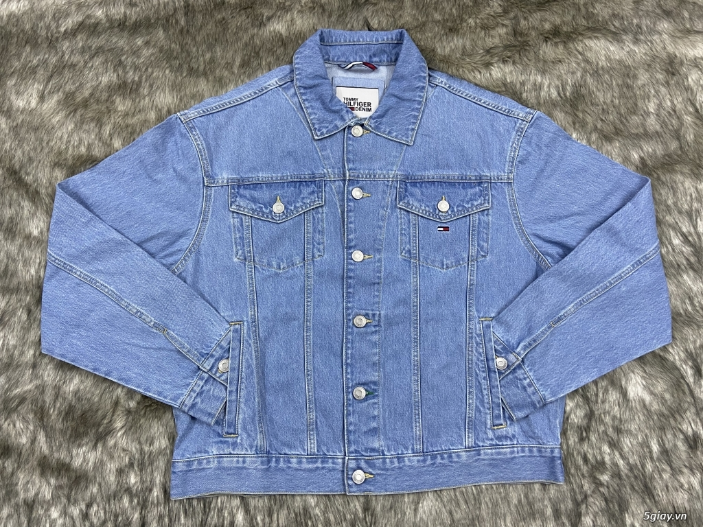 Áo khoác Jean mì tôm cực đẹp - 2
