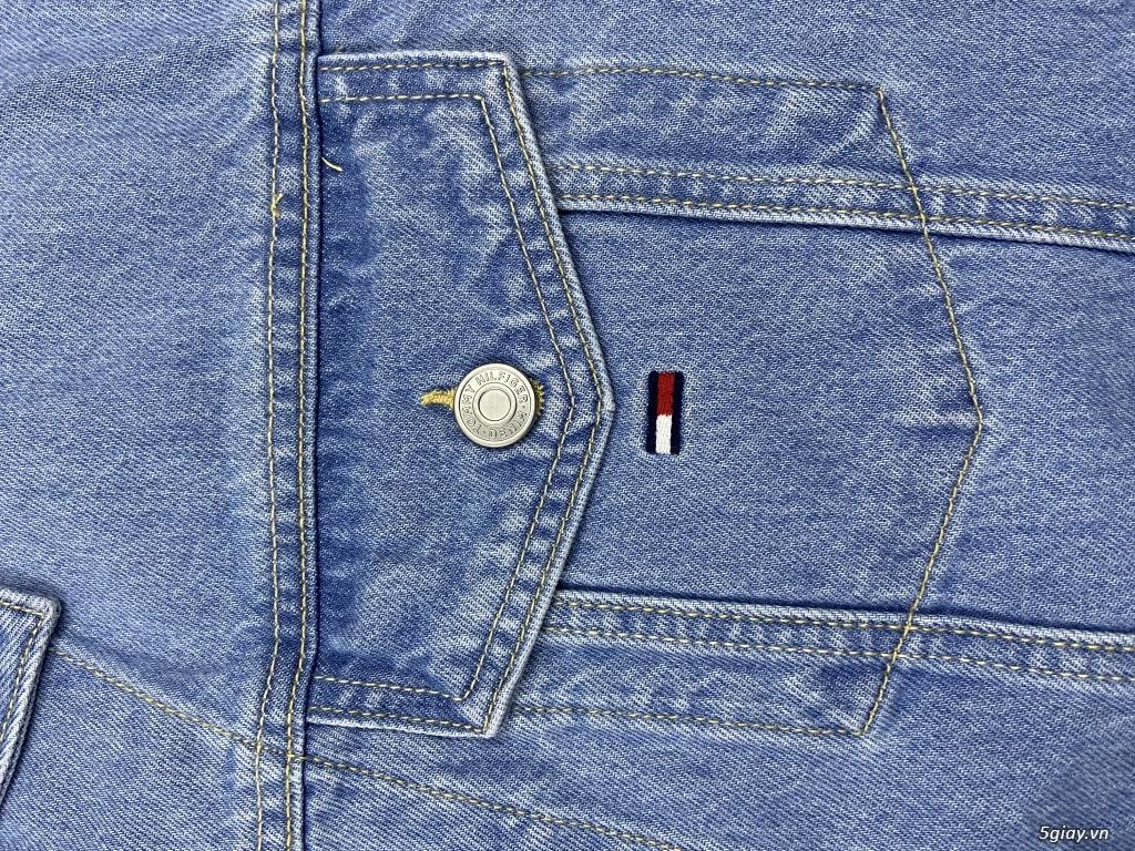 Áo khoác Jean mì tôm cực đẹp - 3
