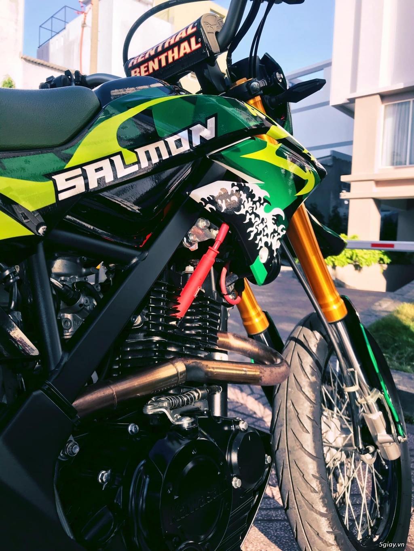 Bán em D-Tracker 150 của Kawasaki dáng supermoto HQCN xe odo 3.000 km - 6
