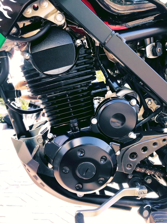 Bán em D-Tracker 150 của Kawasaki dáng supermoto HQCN xe odo 3.000 km - 2