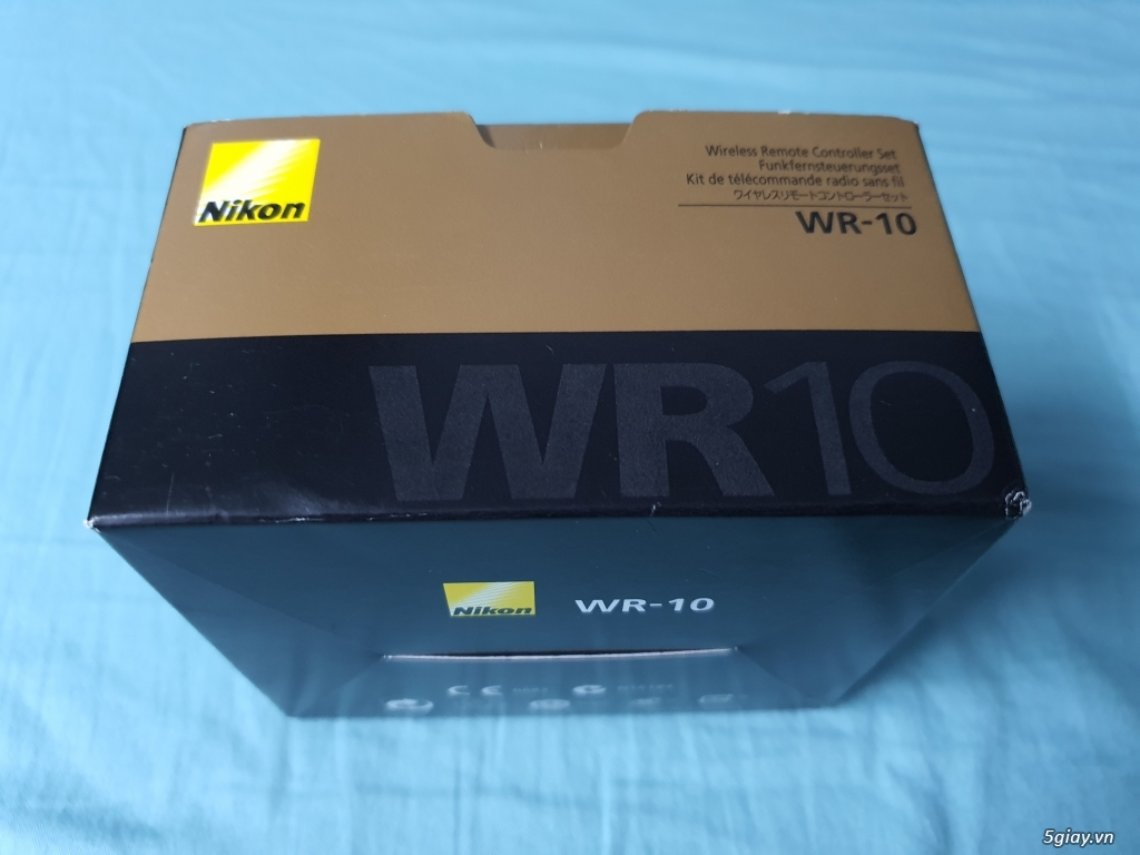 Bộ 3 Nikon WR-R10/WR-T10/WR-A10 Wireless Remote Adapter Set.