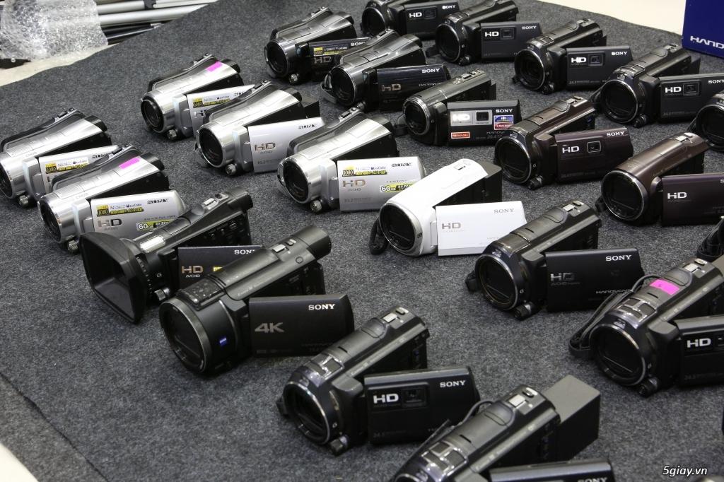 Kho máy quay Handycam xách tay Nhật tha hồ lựa chọn!!! - 2