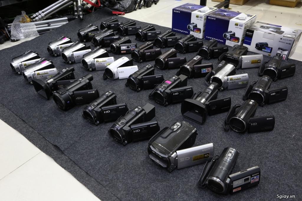 Kho máy quay Handycam xách tay Nhật tha hồ lựa chọn!!! - 3