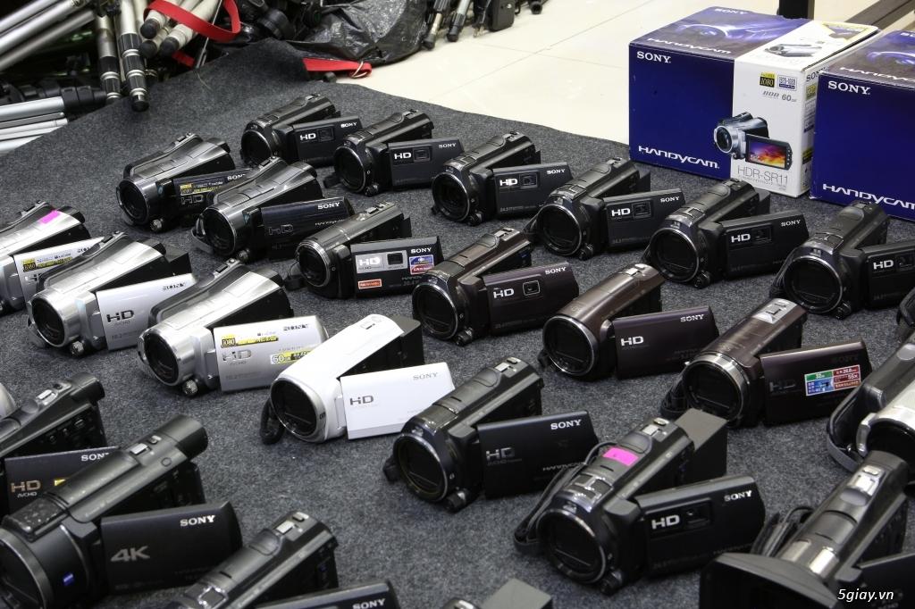 Kho máy quay Handycam xách tay Nhật tha hồ lựa chọn!!! - 1
