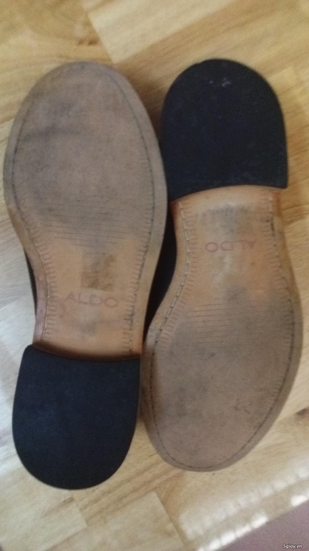 Thanh lý vài đôi giày hiệu còn rất tốt rất đẹp ALDO, tonny, ... Ví da Nam - 2