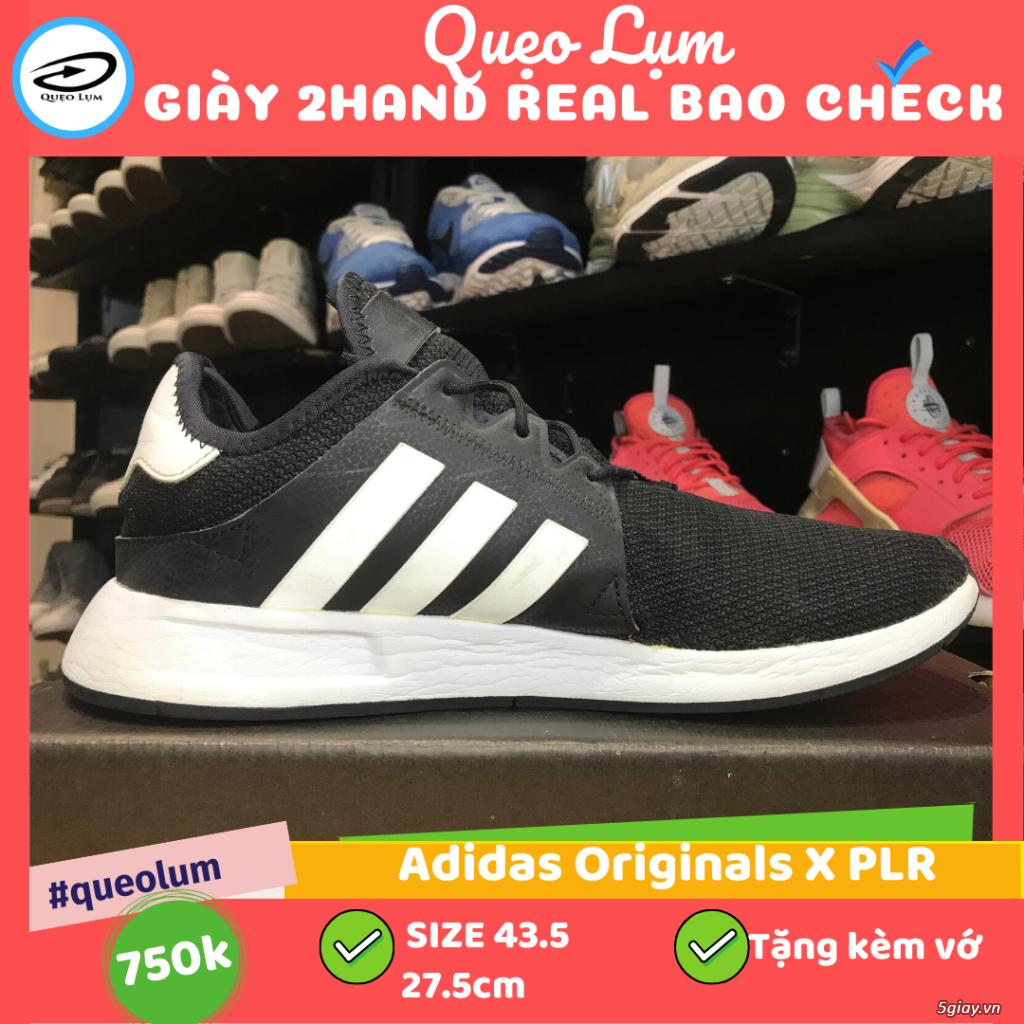 Giày 2hand real Adidas Originals X PLR đen92 43.5 27.5 - 3