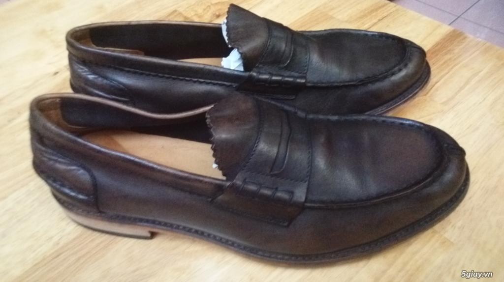 Thanh lý vài đôi giày hiệu còn rất tốt rất đẹp ALDO, tonny, ... Ví da Nam - 1