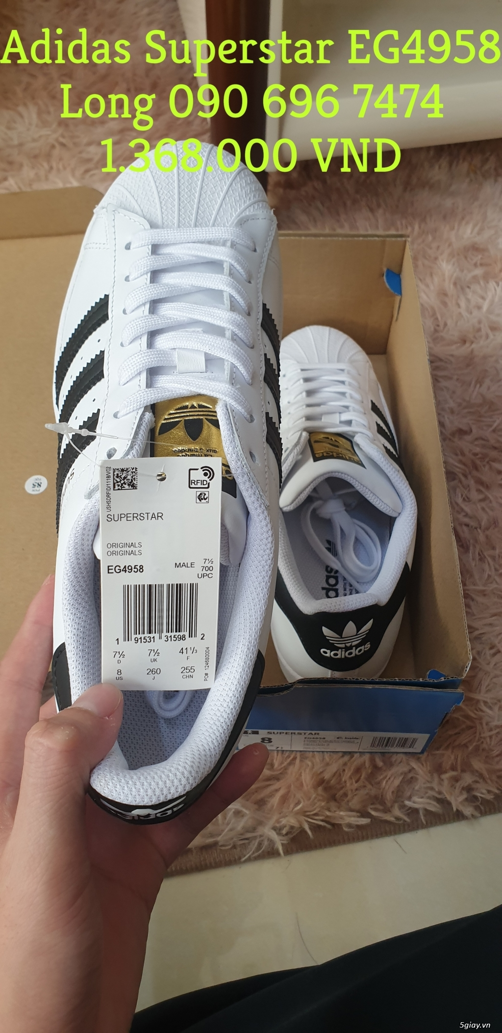 Cần Bán: Adidas Superstar EG4958 2020 - 2