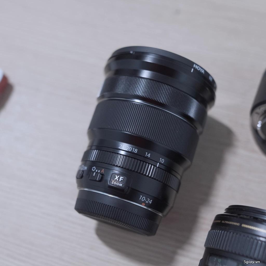 lens FUJI XF10-24 f4|Canon 28, 70-200, ex580ii|Body GH5