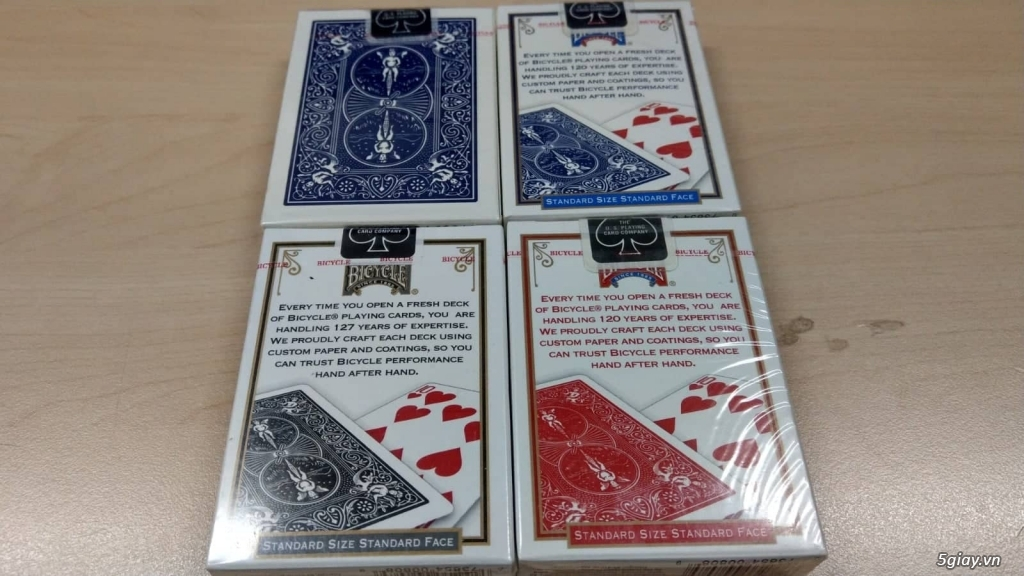 Bộ Game Poker hãng Bicycle mới 100% (Made in USA) - 1
