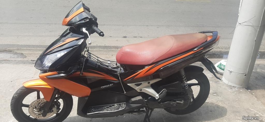 Honda Airblade Fi xe đẹp màu cam đen - 1