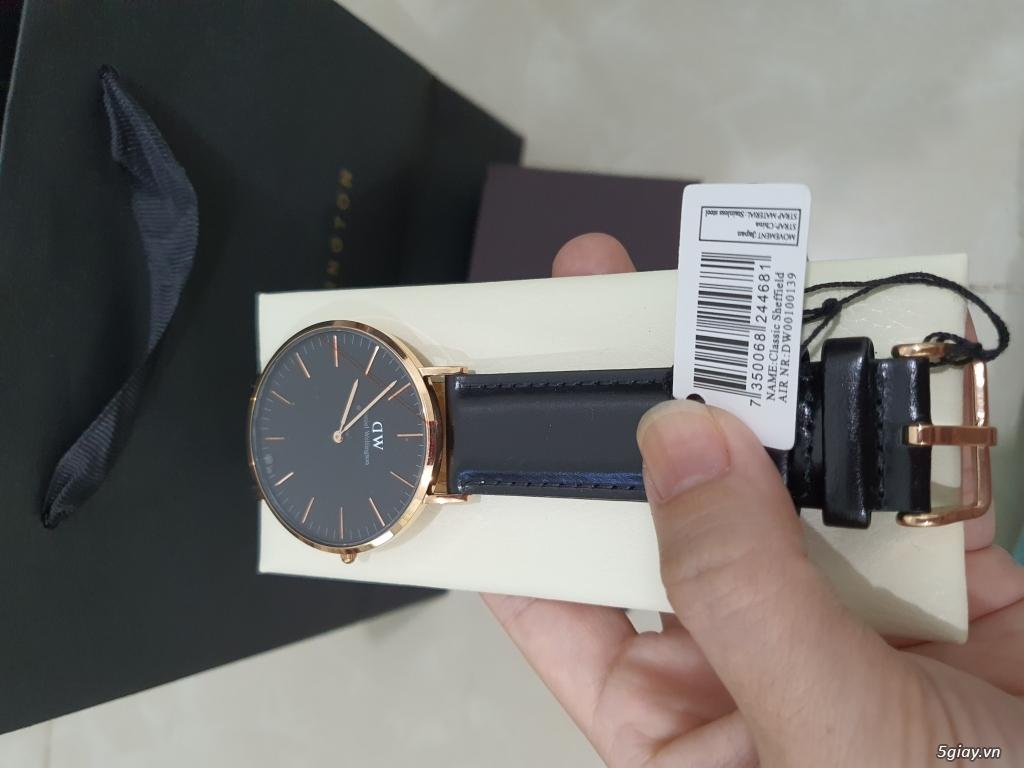 Đồng hồ DW classic black mới 100% end 23h00 ngày 16/05/2020!! - 1