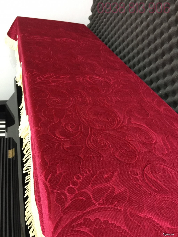 Khăn phủ đàn piano cơ - hàng vải Indo cực đẹp - 2