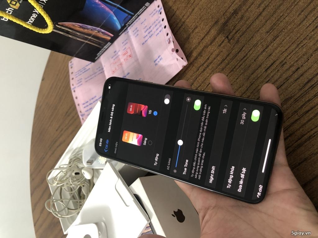 Bán iphone xs max 64gb Gold bản quốc tế 2 sim ZA/A fullbox... - 2