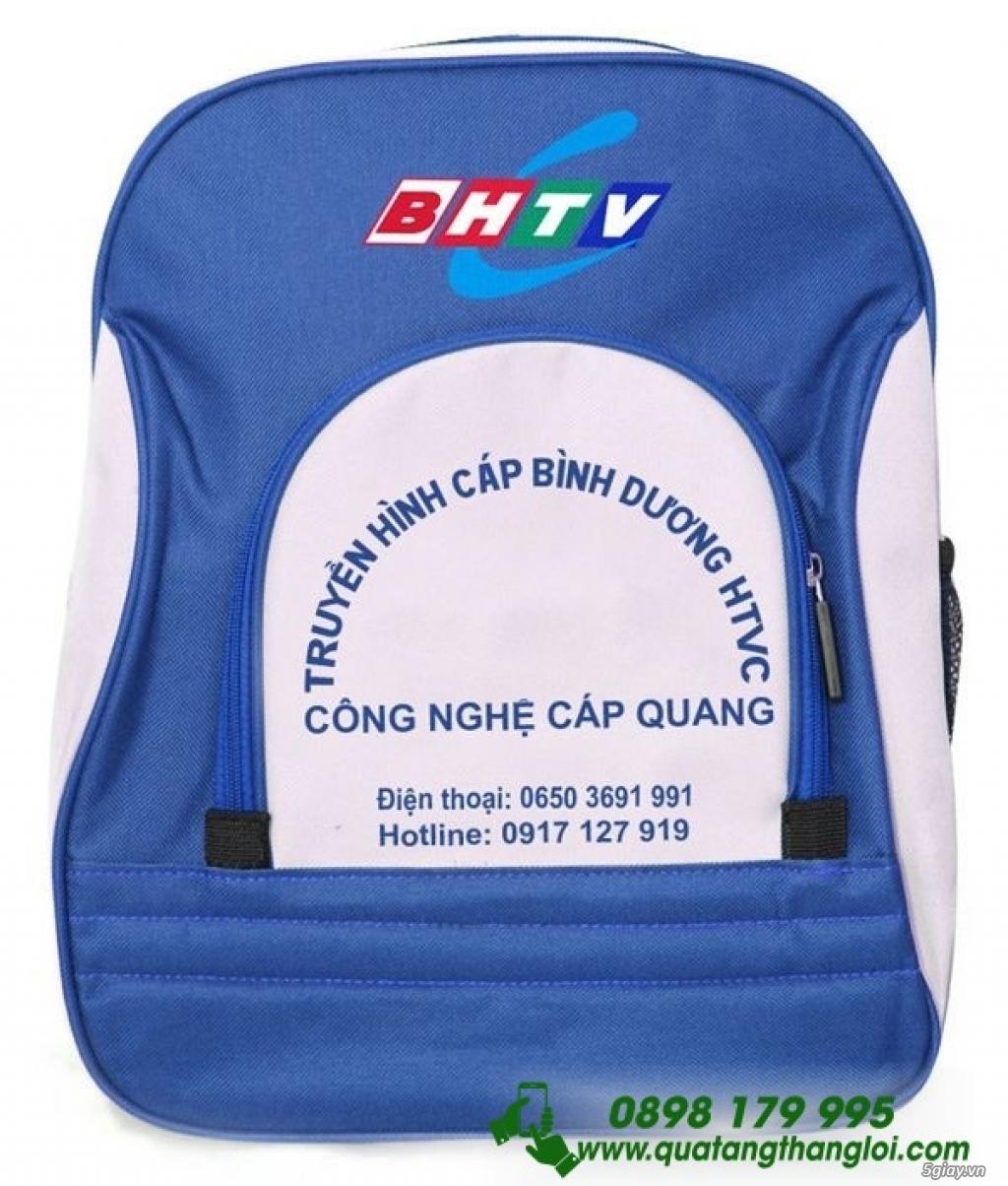 Ba Lô in Thêu logo Doanh nghiệp làm quà tặng - 4