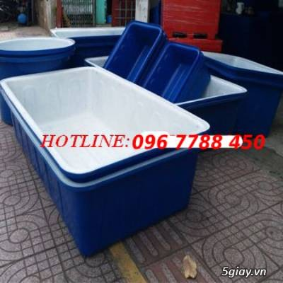 Thùng nhựa 1000 lít nuôi cá LHe 0967788450 Ngọc