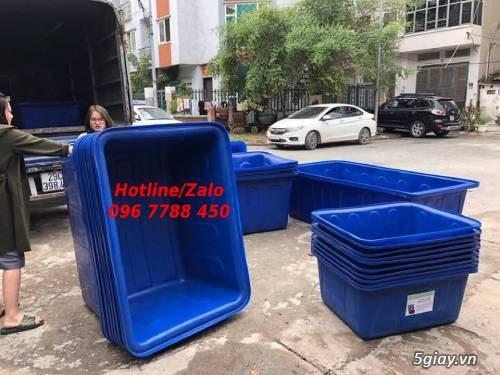 Thùng nhựa 1000 lít nuôi cá LHe 0967788450 Ngọc - 1