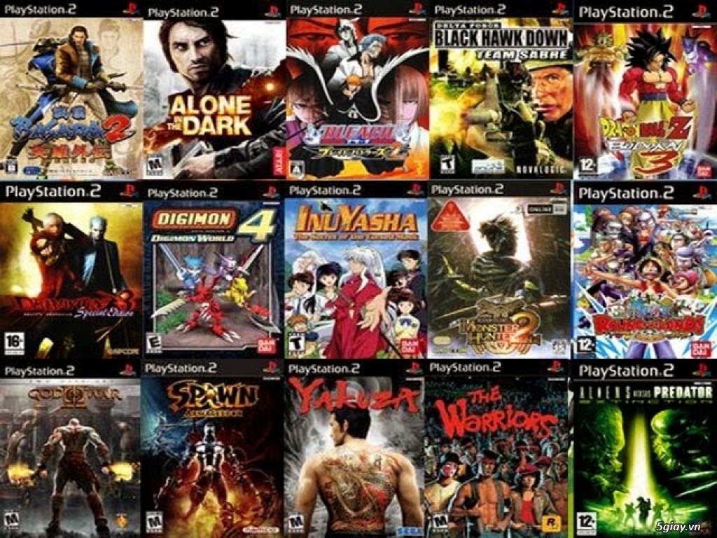 Bán Đĩa game PS1/PS2/HACK PS1/PS2 chép bao tốt ship Toàn Quốc - 5