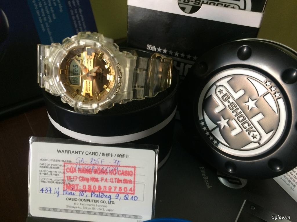 Đồng hồ Casio G-Shock Nam GA-835E-7A - Mới - 2