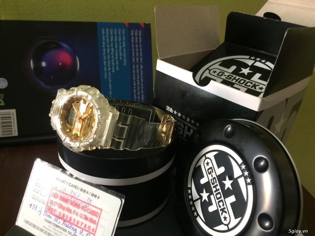 Đồng hồ Casio G-Shock Nam GA-835E-7A - Mới