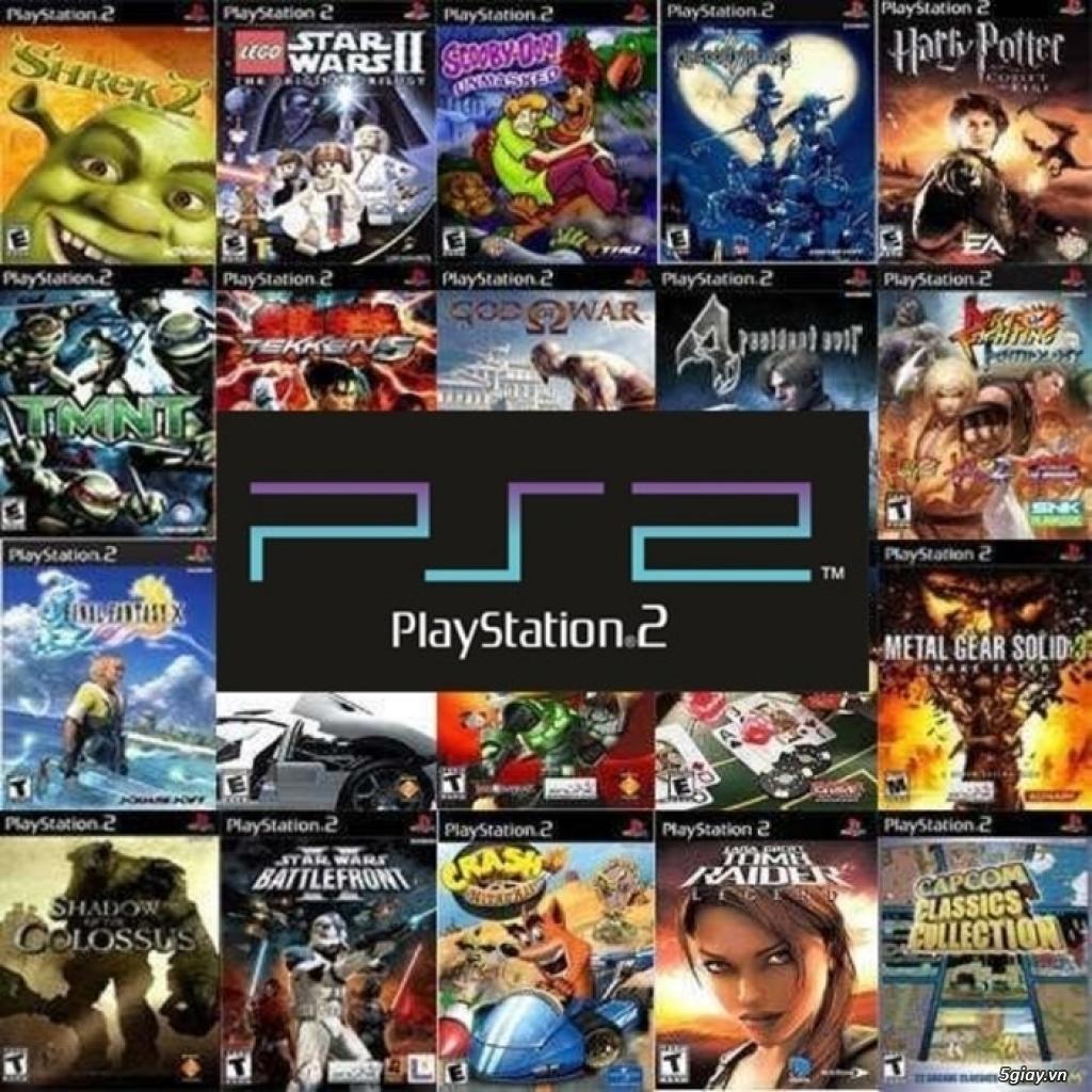 Bán Đĩa game PS1/PS2/HACK PS1/PS2 chép bao tốt ship Toàn Quốc - 6