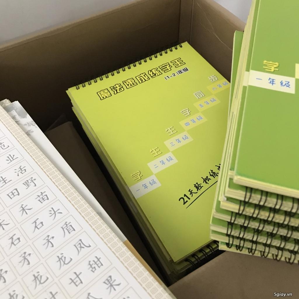 Thanh lý sách tập viết chữ Hán - 3