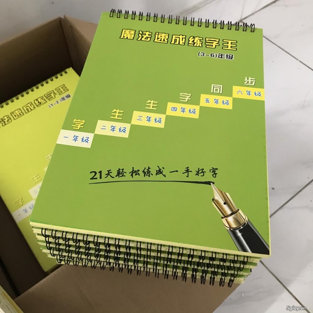 Thanh lý sách tập viết chữ Hán - 2