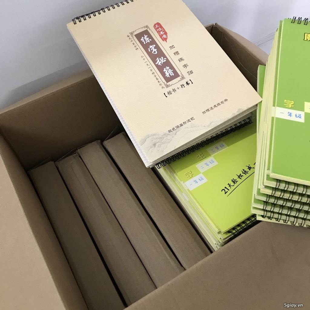 Thanh lý sách tập viết chữ Hán - 4