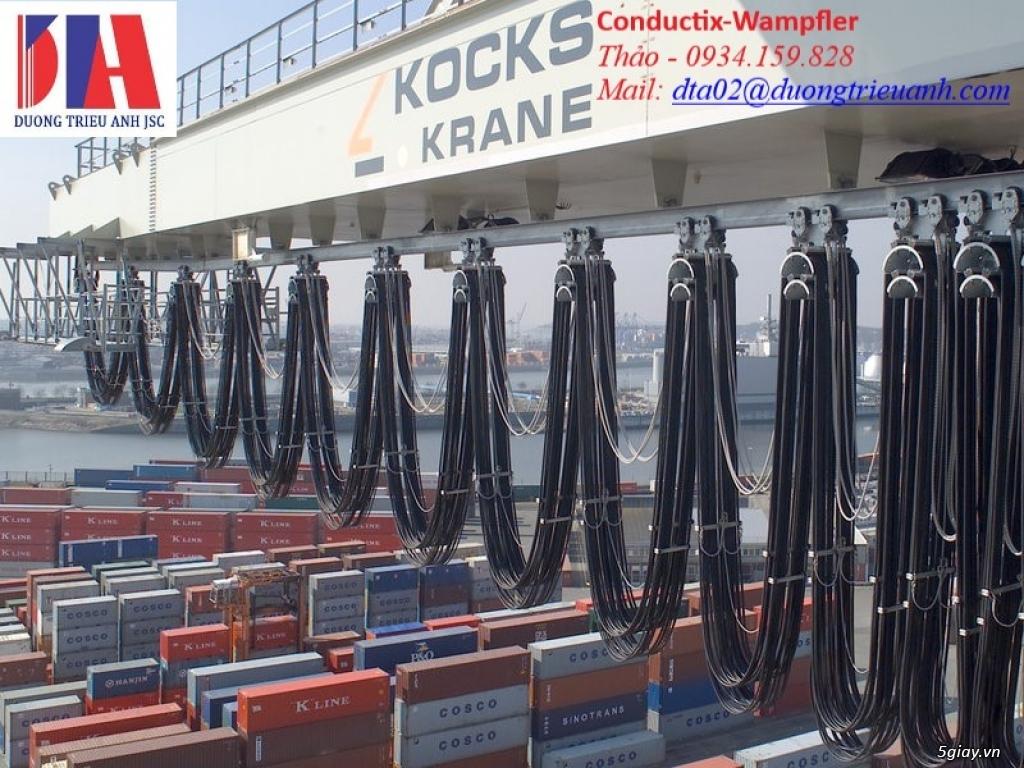 Conductix-Wampfler là nhà thiết kế và sản xuất hàng đầu thế giới.
