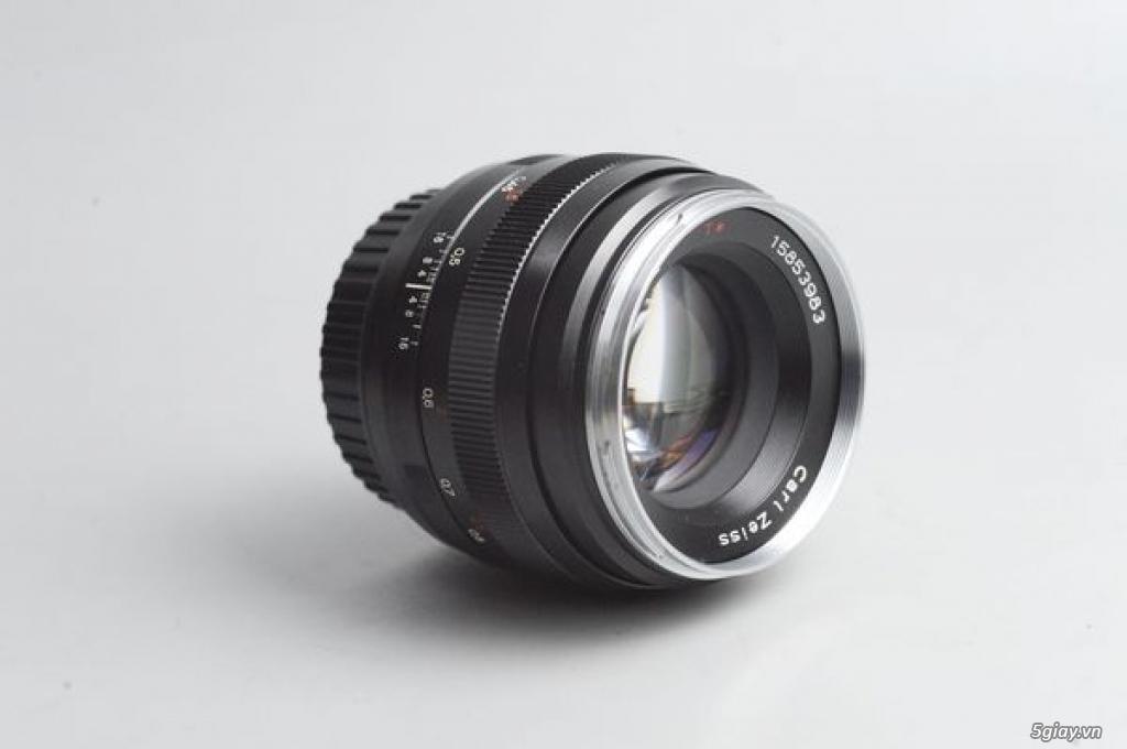Carl Zeiss 50mm f1.4 Planar T* ZE MF ngàm Canon EOS (50 1.4) 95% - 179 - 2
