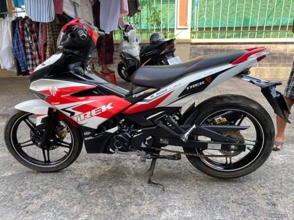 Yamaha Exciter 150 màu đỏ trắng zin - 1