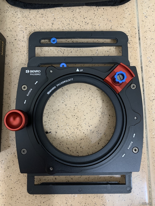 [HCM] Combo holder + CPL của kit filter vuông Benro FH100M2 - 1