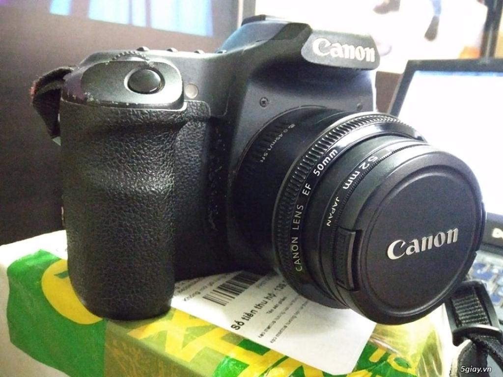 Canon 50D Và Lens Fix 50mm - 1