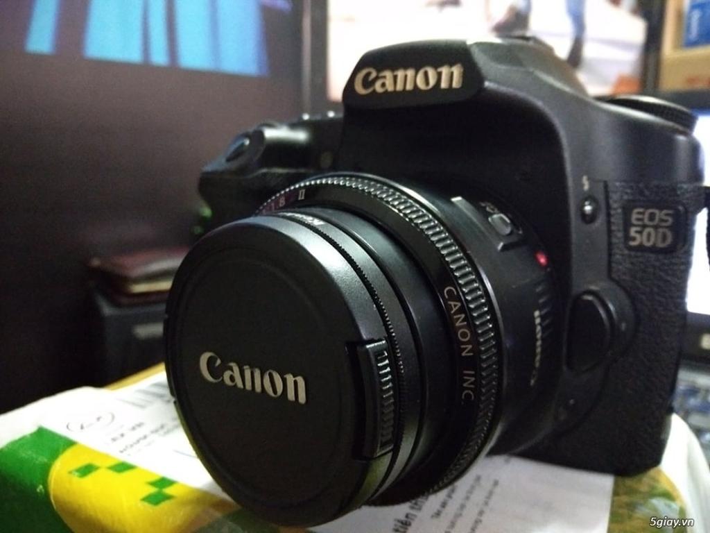 Canon 50D Và Lens Fix 50mm