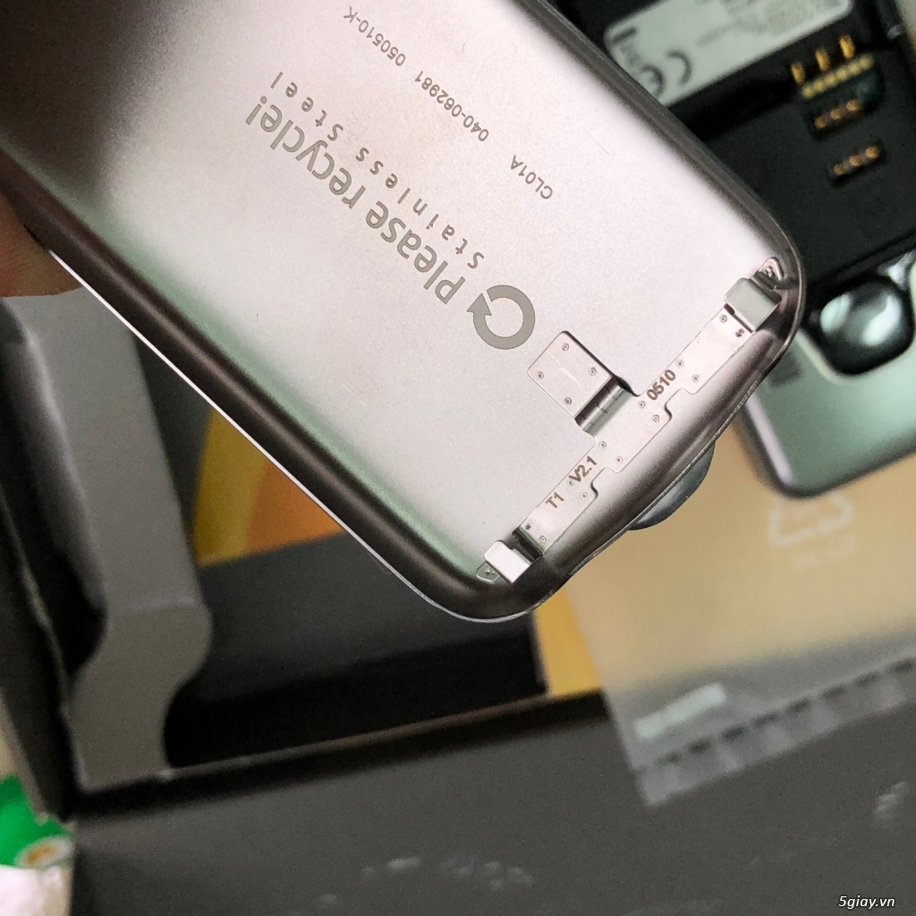Siêu phẩm Nokia 6700 classic bạc sần Germany Brandnew Fullbox - 13
