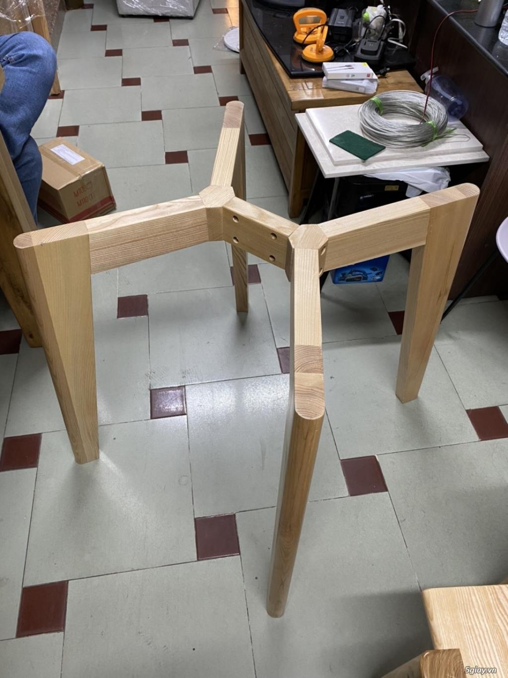 Chân bàn Mad cho mặt đá tròn - 3
