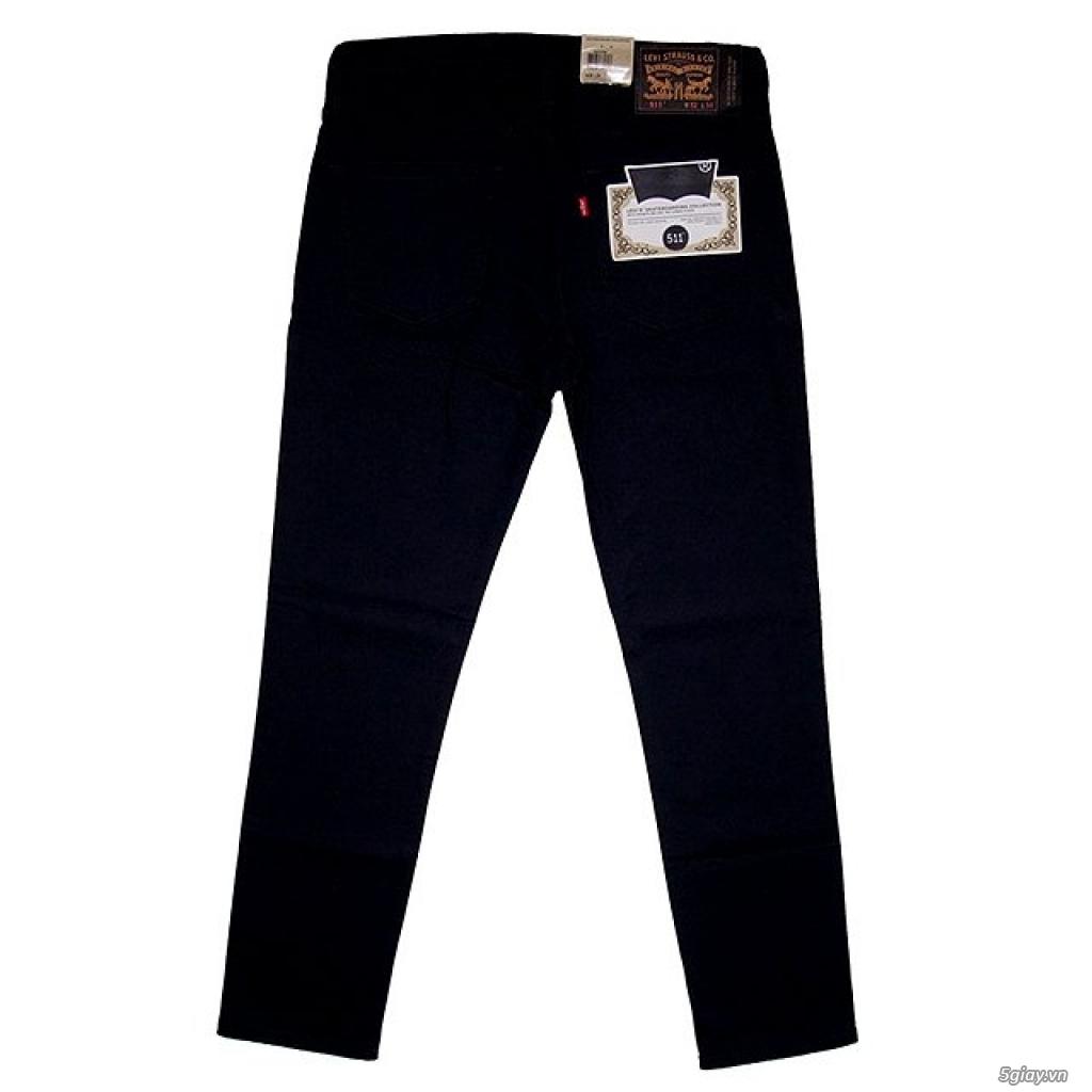 Quần SKATE LEVI's (Levi's skating) 511 Slim Jeans Caviar Bull