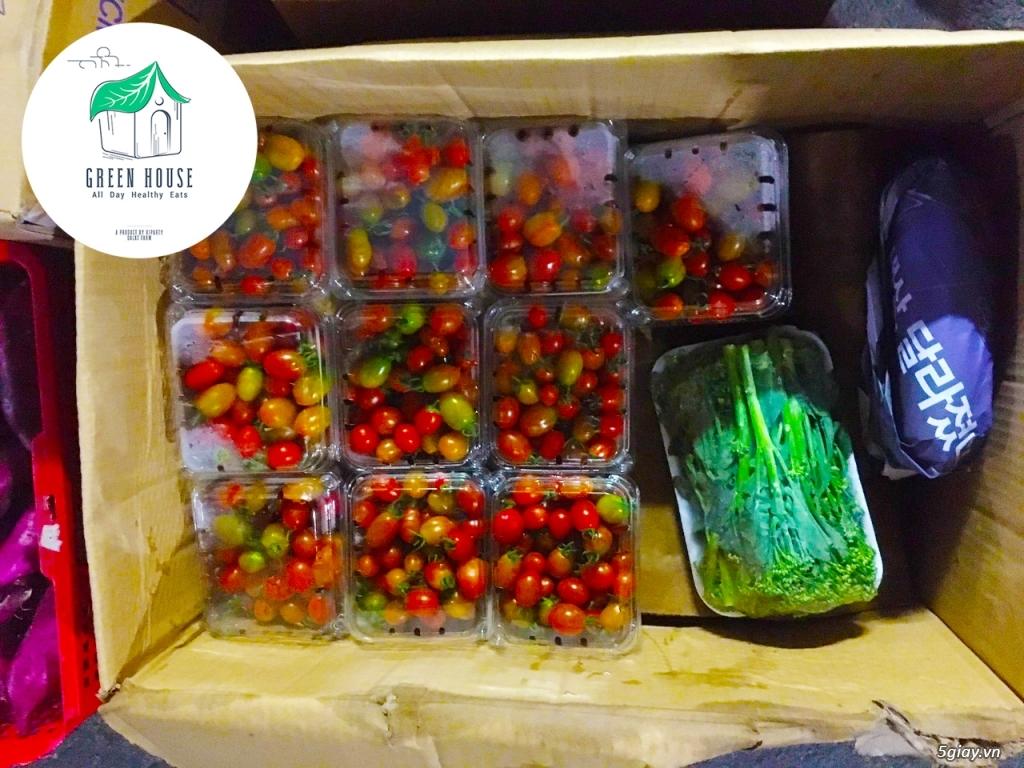 Healthy Green House: Rau - Củ - Quả (Sạch/Organic) & Suất Ăn Giảm Cân - 18