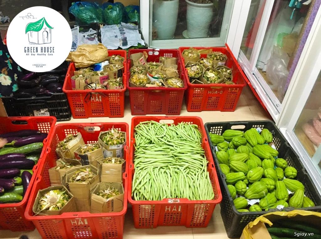 Healthy Green House: Rau - Củ - Quả (Sạch/Organic) & Suất Ăn Giảm Cân - 19