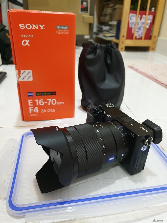 (HCM) Sony A6000 + CZ 16-70 F4 + Phụ kiện + Sony Nex 5R - 7