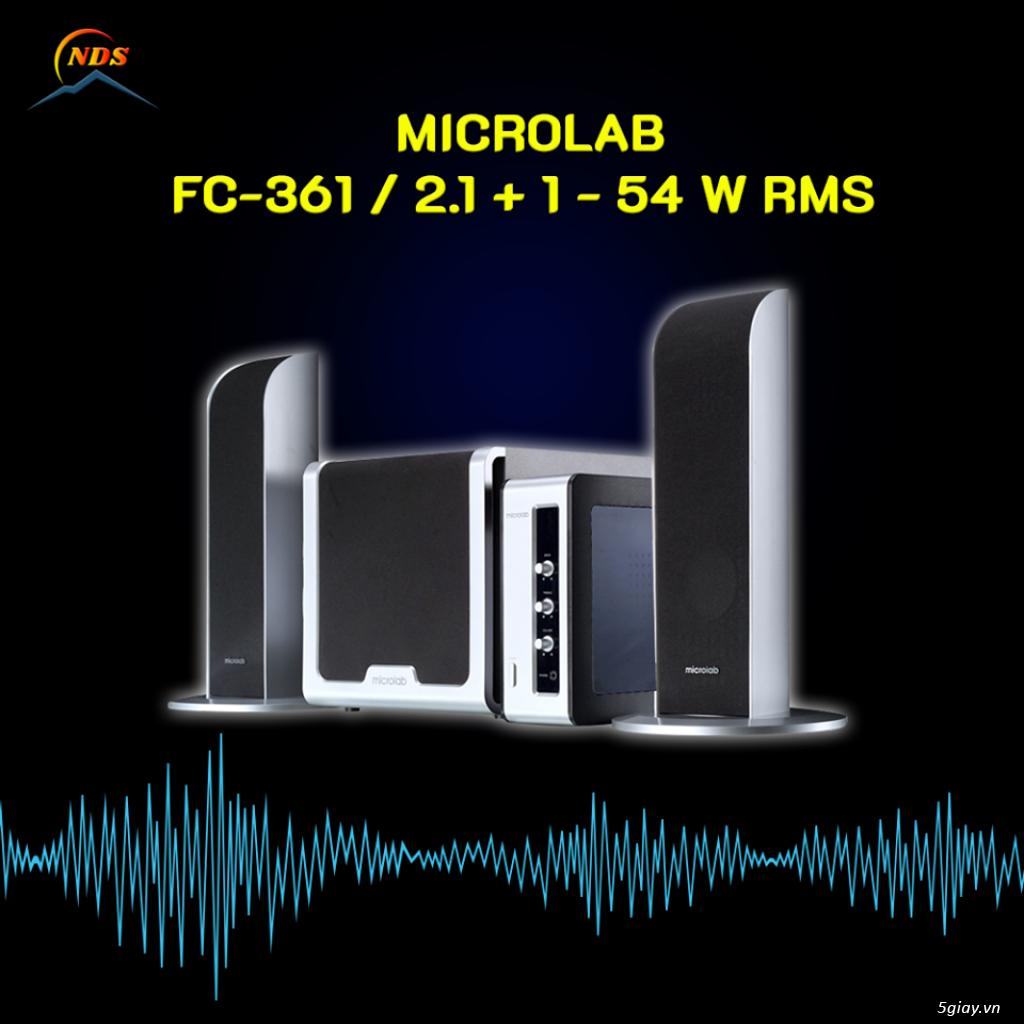 Thanh Lý Vài Bộ Loa Máy Tính MICROLAB - 2
