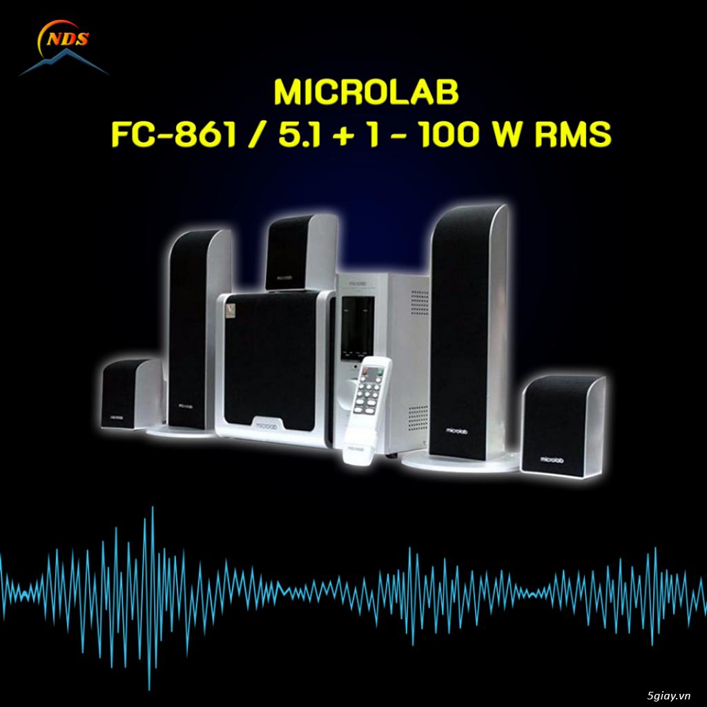 Thanh Lý Vài Bộ Loa Máy Tính MICROLAB - 4