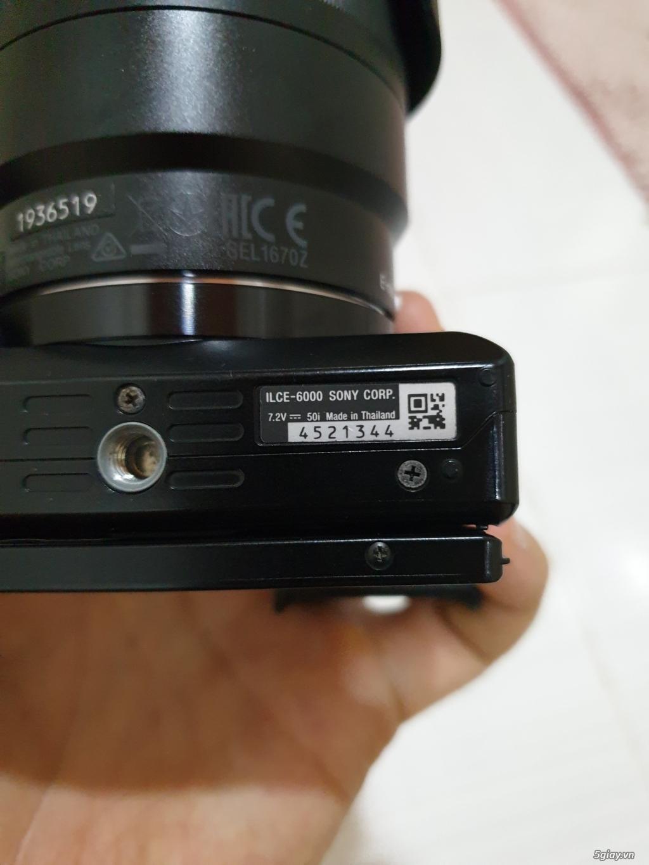 (HCM) Sony A6000 + CZ 16-70 F4 + Phụ kiện + Sony Nex 5R - 10