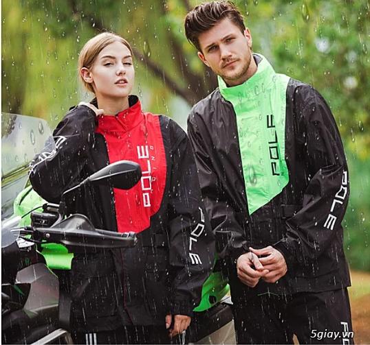 Áo mưa bộ Pole Racing (Xuất Hàn) - 1