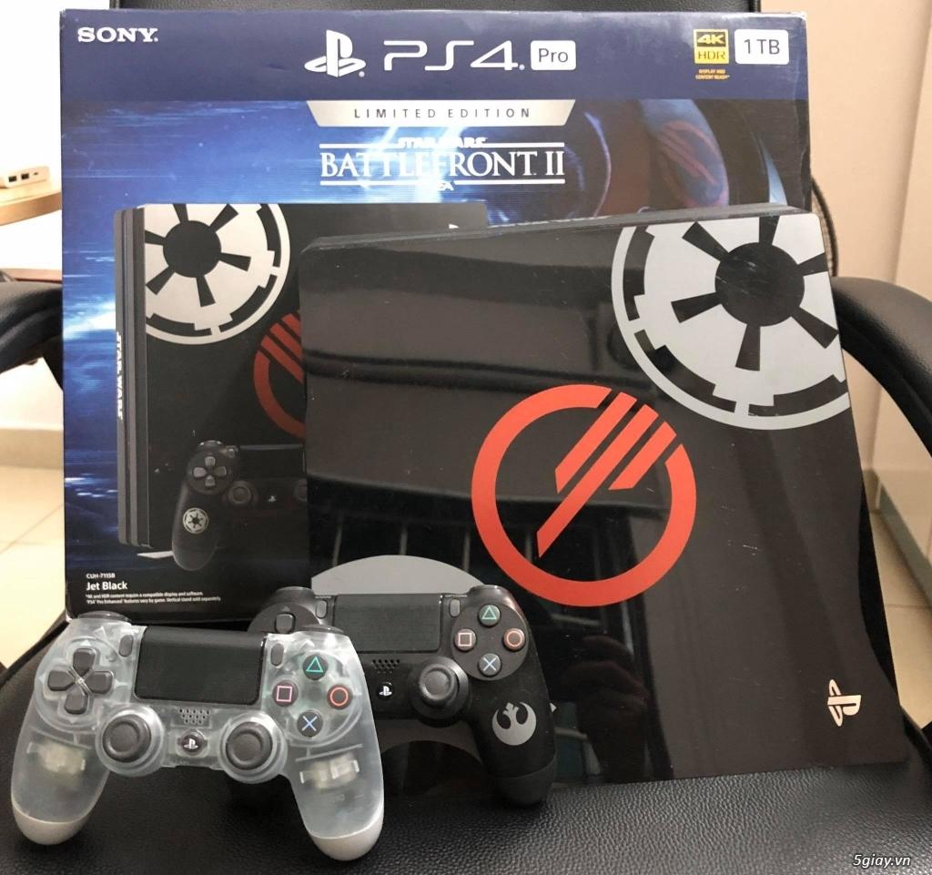 PS4 Pro Starwar Bundle 1TB, 2 tay cầm